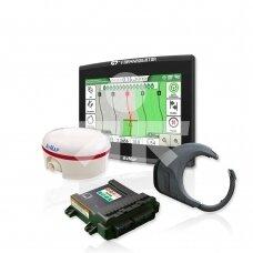 Automatinio vairavimo kompl. G7 Plus Farmnavigator + Turtle Smart RTK 2,5cm