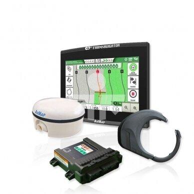 Automatinio vairavimo kompl. G7 Plus Farmnavigator + Turtle Smart Pro 15cm
