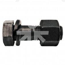 Frezos nago varžtas su veržle M10x35 12.9