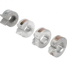Gylio reguliavimo tarpinių komplektas 22,2/25,4/31,8/38,1mm diametras 30-38mm RS3038