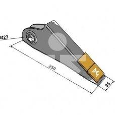 Point - Hard metal P09148 101.EXT-1033 Simba