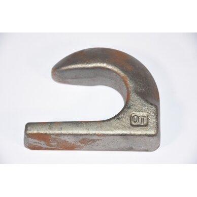 Kablys privirinamas Euro prikabinimo Ø M40 39002