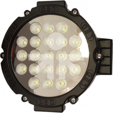 LED Žibintas 63W trumpų IP68 175x55mm