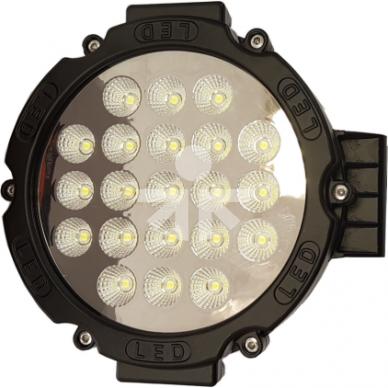 LED Žibintas 63W trumpų IP68 175x55mm