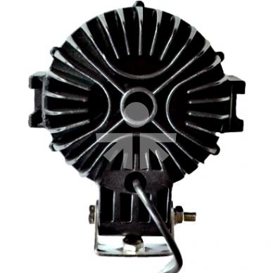 LED Žibintas 63W trumpų IP68 175x55mm 3