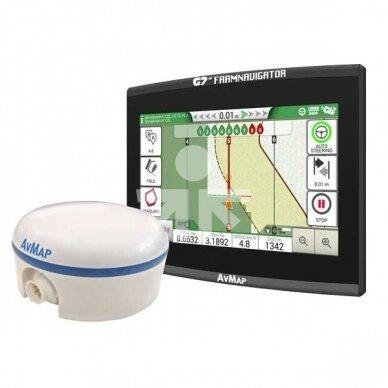 Lygiagretaus vairavimo sistema G7 EZY Farmnavigator + Turtle Smart 25cm