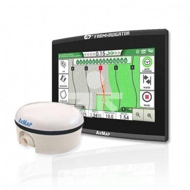 Lygiagretaus vairavimo sistema G7 Plus Farmnavigator + Turtle Smart Pro 15cm