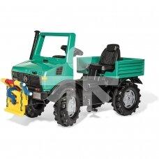 """Minamas """"Rolly Toys"""" rollyUnimog Forst traktorius su pritvirtinta gerve su švaistikliu"""