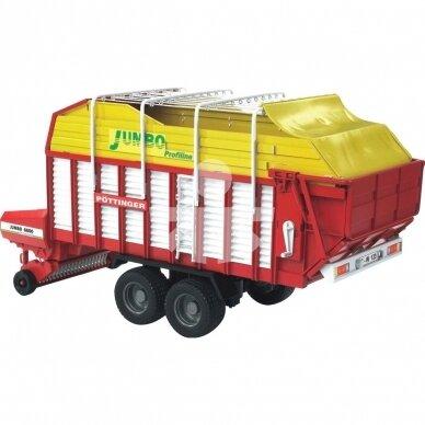 Žaislas Bruder priekaba rinktuvas Pottinger Jumbo 6600  02214 2