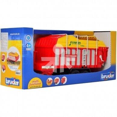 Žaislas Bruder priekaba rinktuvas Pottinger Jumbo 6600  02214 3