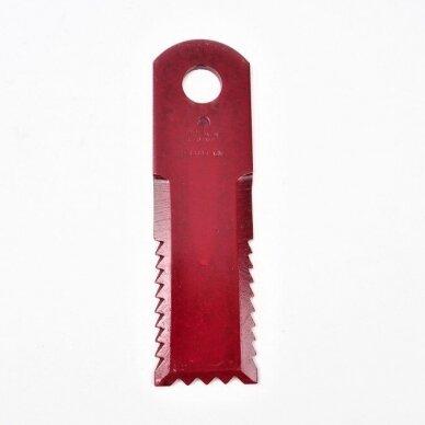 Smulkinimo peilis karpytas 173x50x4.5mm D20mm  HF44443 / 84068444 / D49074600 AGV Germany