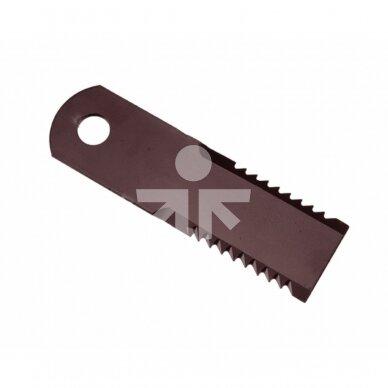 Smulkinimo peilis karpytas 175x50x4mm D20mm AGV Germany RS51582.10/755784
