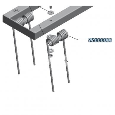 Spyruoklė 10x350 MCH 65000033 OVLAC