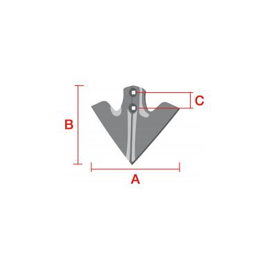 Strėlinis noragėlis Bellota 15072-CA 3000236-KOO Farmet 2