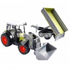 Žaislas Bruder traktorius Claas Nectis 267F 02112