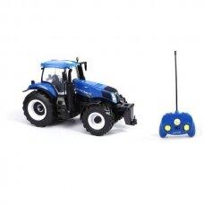 Žaislas traktorius New Holland T8.320 RTR Maisto 82026 su pulteliu
