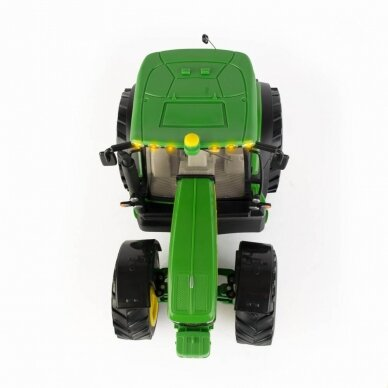 Žaislas traktorius John Deere 6190R Big Farm su pulteliu 42838 3