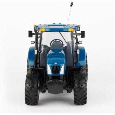 Žaislas traktorius New Holland T6070 Big Farm su pulteliu 42601 3