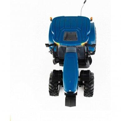 Žaislas traktorius New Holland T6070 Big Farm su pulteliu 42601 4