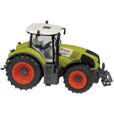 Žaislas Happy People traktorius Claas Axion 870 su valdymo pulteliu 34424 2