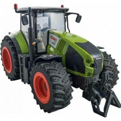 Žaislas Happy People traktorius Claas Axion 870 su valdymo pulteliu 34424 3