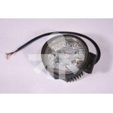 LED Darbo Žibintas apvalus 9 diodų L0076